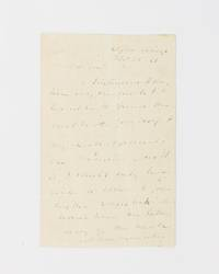 An autograph letter signed ('M. van Buren') to 'My dear Gow' by  1837-41)  8th President of the USA - Signed - from Michael Treloar Antiquarian Booksellers (SKU: 115560)