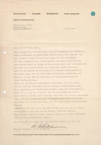 Large archive of documents concerning the artistic legacy and fate of works by Hannes Meyer (1889-1954), of the Bauhaus Dessau