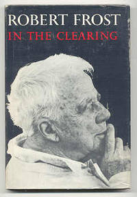 NY: Holt Rinehart & Winston, 1962. First edition, first prnt. The dustjacket rear panel is black wit...