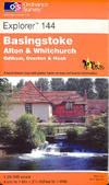 image of Basingstoke, Alton and Whitchurch (Explorer Maps)