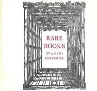 Catalogue 167/n.d.: Rare books XV to XVIII Centuries.