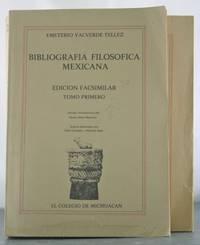 Bibliografi?a filoso?fica mexicana (Spanish Edition)
