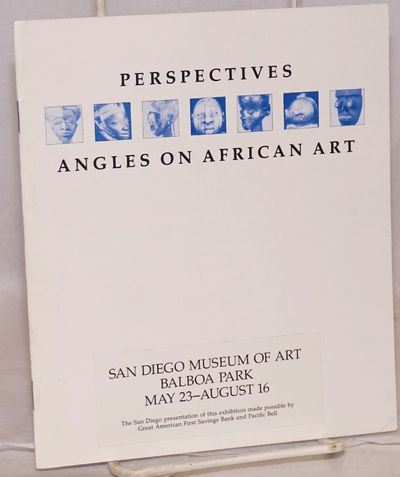 San Diego & NY: San Diego Museum of Art & Center for African Art, 1987. 14p., 6x7 inches, illustrate...
