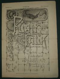 image of Plain Talk Vol. III No. 5 August 1886