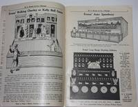 H. C. Evans & Co., Chicago.  Manufacturers of High-Class Clubroom Furniture.  Sporting Goods, . . . Casino Supplies, Trade Stimulators.  Headquarters for Park, Fairground and Carnival Supplies.  General Catalog D