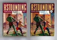 "Astounding Science Fiction / April 1941 / American and British Editions  / ""Reason"" (Isaac Asimov); ""Microcosmic God"" (Theodore Sturgeon)"