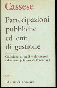 PARTECIPAZIONI PUBBLICHE ED ENTI DI