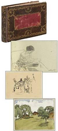 [Album Amicorum]: German Autograph Album with Original Drawings