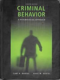 Criminal Behavior A Psychosocial Approach