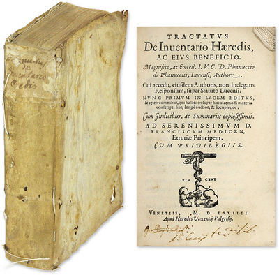 1574. Venice, 1574. Only edition. Venice, 1574. Only edition. A Scarce Sixteenth-Century Treatise on...