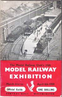 image of The Model Railway Club's 34th Model Railway Exhibition March 31st to April 4th 1959 Central Hall Westminster. Official Guide