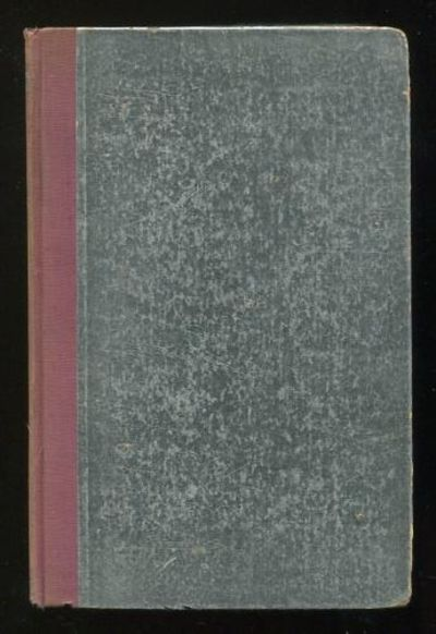 New York/London: Harper & Brothers. Good. 1930. 1st Edition (F-E). Hardcover. (foil-covered boards; ...