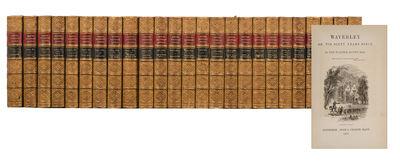 Edinburgh: Adam & Charles Black, 1871. Centenary Edition. Twenty-five small octavo volumes (7 3/16 x...