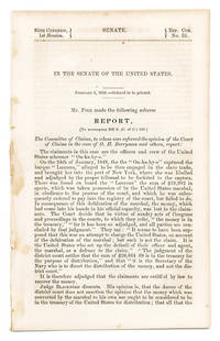 In the Senate of the United States. February 1, 1858, Ordered.. by Slavery; United States  - 1858  - from The Lawbook Exchange Ltd (SKU: 66037)