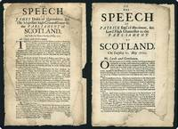 The speech of James Duke of Queensberry, &c. His Majesties high commissioner to the Parliament of Scotland, on Tuesday the Twenty One day of May, 1700. [with, as issued] Polwarth, Patrick Hume, Earl of Marchmont.  The speech of Patrick Earl of Marchmont, &c. Lord High Chancellor to the Parliament of Scotland, on Tuesday 21. May 1700.