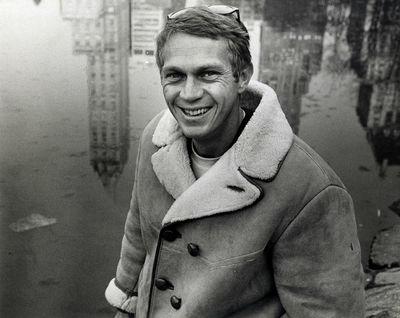 STEVE MCQUEEN (ca. 1965) by WIlliam...