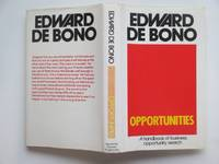 image of Opportunities: a handbook of business opportunity search