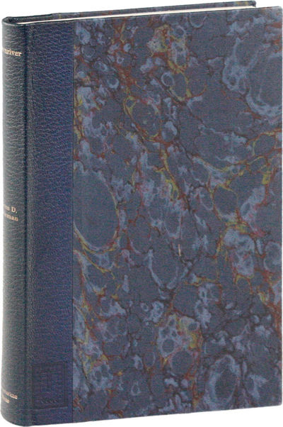 New York: Ultramarine Publishing Co, 1988. First, Limited Edition. First Printing. One of 40 signed,...