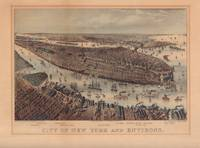 image of City of New York and Environs.