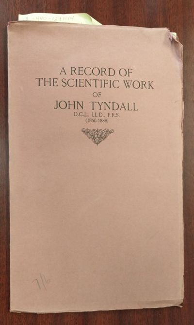 London: Chiswick Press, 1935. First Edition. Softcover. 8vo., 38 pages; VG- condition; mauve cover w...