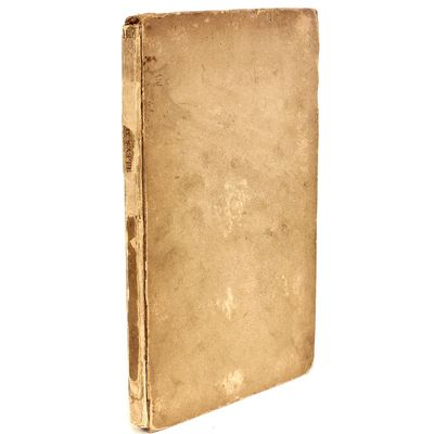 London: Edward Moxon, 1832, 1832. FIRST EDITION FIRST BINDING COMPLETELY UNRESTORED. 1 vol., 12mo, b...
