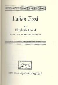Italian Food. Drawings by Renato Guttoso