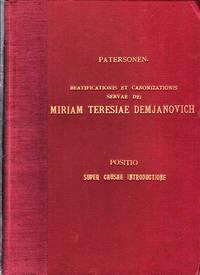Sacra Congregatio pro Causis Sanctorum Beatificationis et Canonizationis  Servae Dei Miriam Teresiae Demjanovich Religiosae E Congregatione Sororum  A Caritate S. Elisabeth (1901-1927) (Italian text)