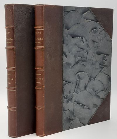 Florence.: Roger Verity. , 1905 - 1911. 1st edition.. Contemporary half brown morocco over gray marb...
