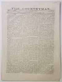 THE COUNTRYMAN, Turnwold [Plantation.], Putnam County, Georgia.   Dec. 1, 1862.