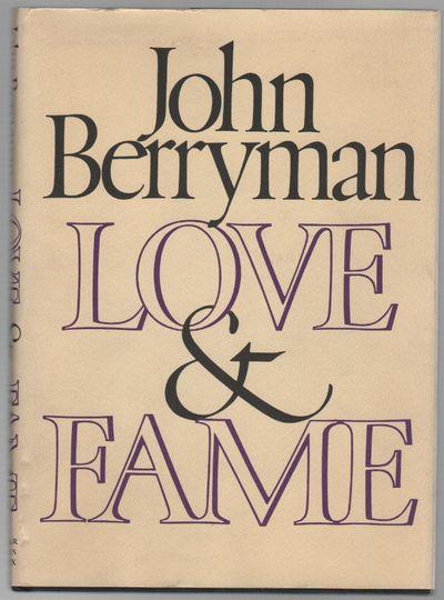 New York: (Farrar, Straus and Giroux), 1970. First Edition. Hardcover. Very good/very good. 8vo. Bla...