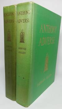 image of ANTHONY ADVERSE [Two vols.  Inscribed.]