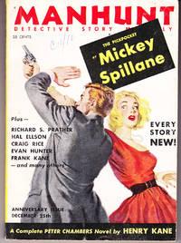 Manhunt Detective Story Magazine, December 25, 1954, Volume 2 Number 11