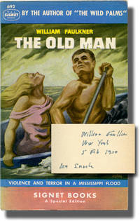 image of The Old Man (First Separate Edition, inscribed by Faulkner in 1950 to his publisher)