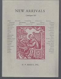 Catalogue 203: New Arrivals