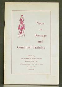 Notes on Dressage and Combined Training