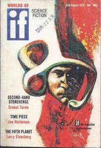 """IF Worlds of Science Fiction: July / August, Aug. 1970 (""""What's Become of Screwloose?""""; """"The Flying Sorcerers"""")"""