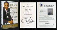 image of The Audacity of Hope (Signed_Beckett-Certified)