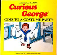 FIRST EDITION- FIRST PRINTING/ CURIOUS GEORGE GOES TO A COSTUME PARTY