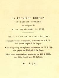 La Derniere Nuit de Don Juan. Poeme Dramatique en deux parties et  un Prologue