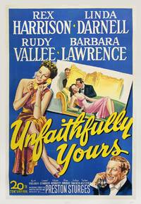 UNFAITHFULLY YOURS (1948) One sheet poster
