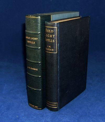 London: Hodder & Stoughton, 1888. Barrie, J. AULD LICHT IDYLLS. London: Hodder & Stoughton, 1888. Fi...