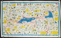 Big Bear Souvenir Cartoon Fun Map. Map title: Big Bear Lake Resorts.