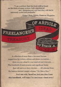 image of Freelancer's Treasury of Article Ideas (signed)