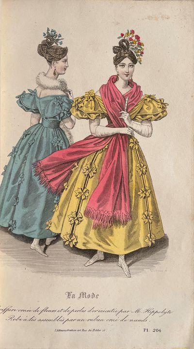 La Mode, Revue du monde élégant....