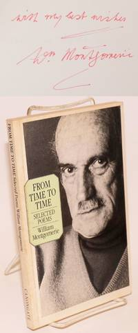 From time to time; selected poems