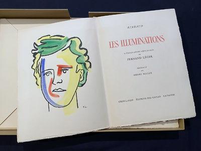 Louis Grosclaude, Editiones des Gaules, Lausanne, 1947. Arthur Rimbaud illustrated by Fernand Leger....