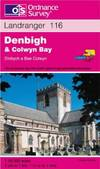image of Denbigh and Colwyn Bay (Landranger Map, 116)