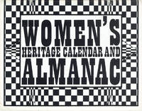Women's Heritage Calendar and Almanac [cover title]