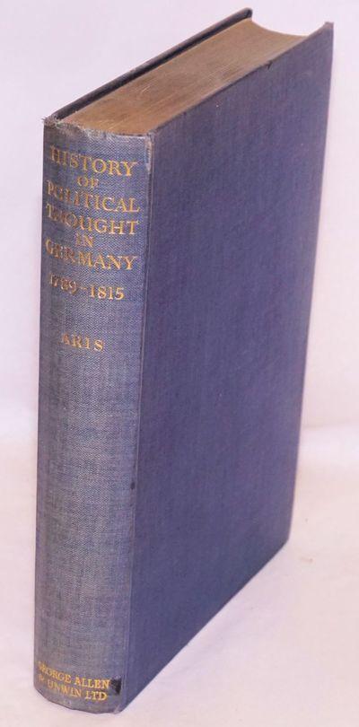 London: George Allen & Unwin Ltd, 1936. 414p., 2p., first edition blue cloth boards gilt, top edge t...