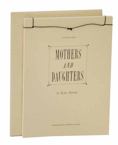 np: np. Softcover. Eleven page excerpt from the novel by Bonner. Translated by Antonia W. Bouis. A f...